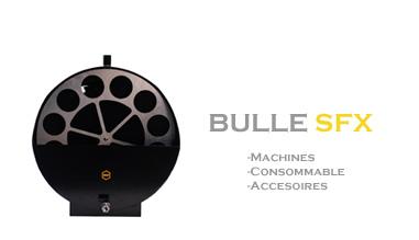 SFAT - GAMME DE MACHINE ET LIQUIDE A BULLE
