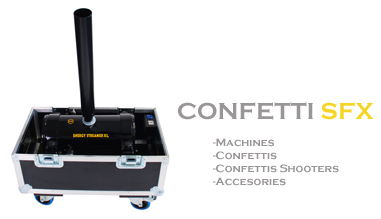 SFAT - CONFETTI MACHINE , CONFETTI , SHOOTER CONFETTI , STREAMER