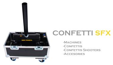 SFAT - CONFETTI MACHINE , CONFETTI , SHOOTER CONFETTI , STREAMER