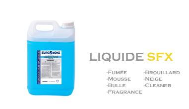 SFAT - GAMME DE LIQUIDE A FUMEE , BROUILLARD , NEIGE , BULLE , MOUSSE , PARFUM , BULLE UV ,