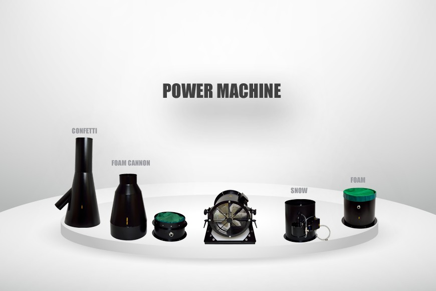 POWER MACHINE RANGE